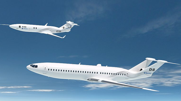 NASA funds Aurora Flight Sciences' continued development of D8 airliner concept