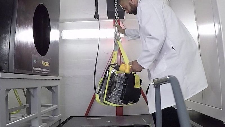High-energy CT inspection provides non-destructive testing, 3D internal inspection for validating critical aerospace parts