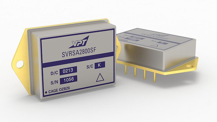 VPT debuts SVRSA radiation-hardened DC-DC converters for space applications