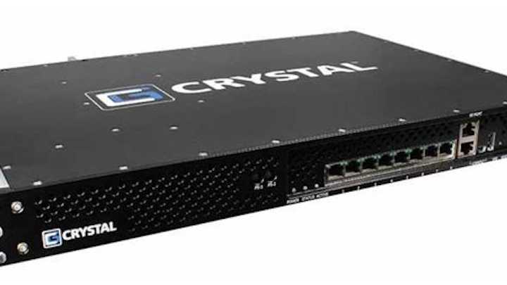 Crystal Group rugged network firewall provides cybersecurity protection in the field