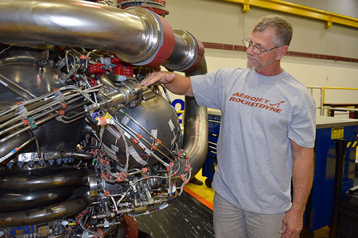 Aerojet Rocketdyne and NASA complete hot-fire tests of 3D-printed RS-25 rocket engine