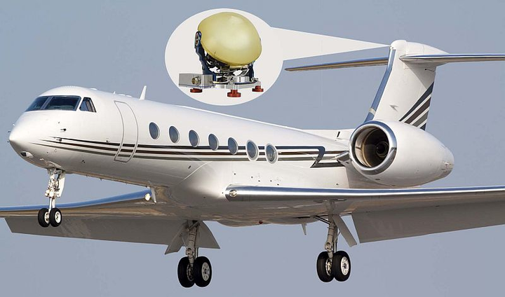 Astronics AeroSat with Panasonic Avionics, Satcom Direct boost in-flight connectivity on bizjets