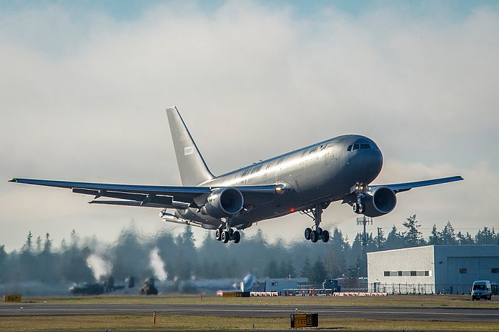 Boeing KC-46A tanker for U.S. Air Force completes first flight, airborne operational checks