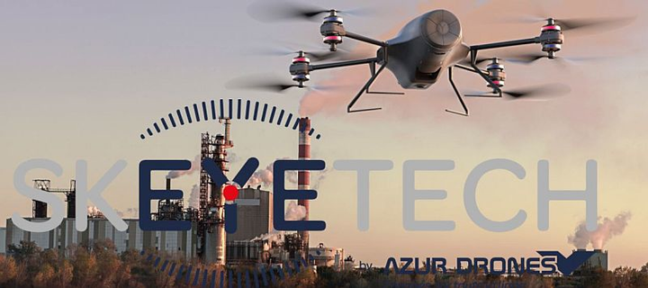 Azur Drones and Thales co-developing PHEBUS mini-drone in secure communications cell