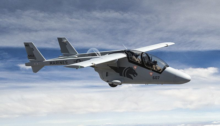 American/South African joint venture launches BRONCO II C4ISR, precision-strike aircraft