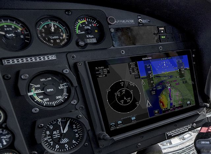 Garmin debuts G500H TXi touchscreen helicopter flight displays with safety features