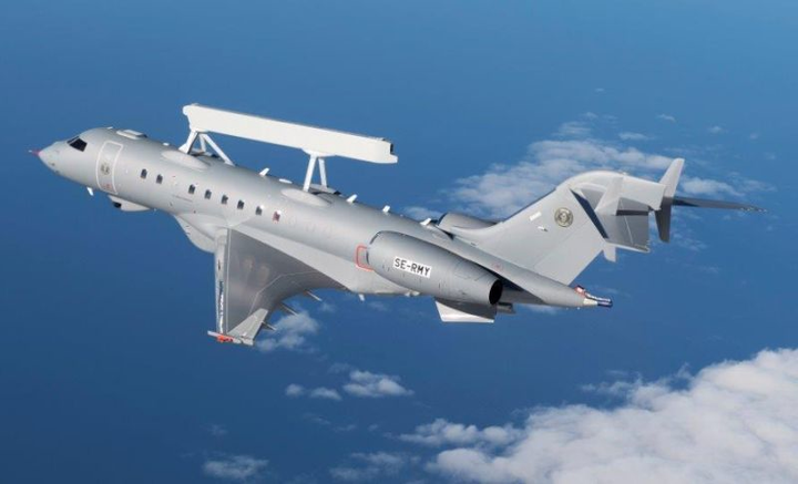 Saab GlobalEye Airborne Early Warning & Control aircraft achieves first flight