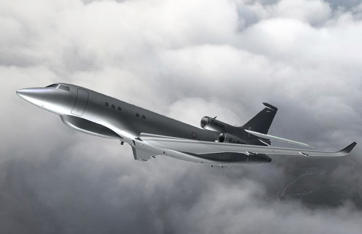 French Ministry of Defense selects Dassault Falcon jet aircraft with Thales EW system