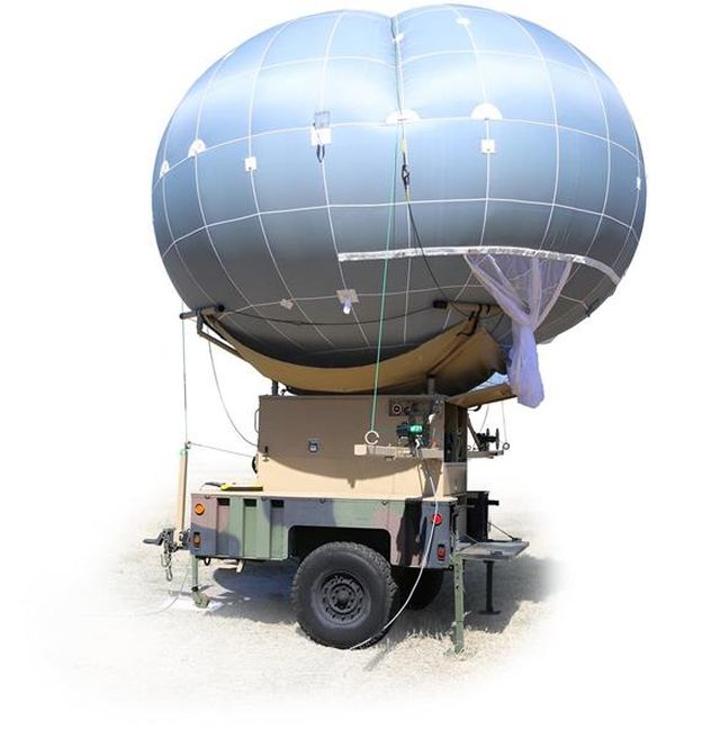 Drone Aviation meets Department of Defense need for tactical aerostat with multi-mission, optics, communications payloads