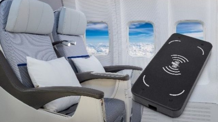 Astronics AES debuts wireless charging module for aircraft cabins