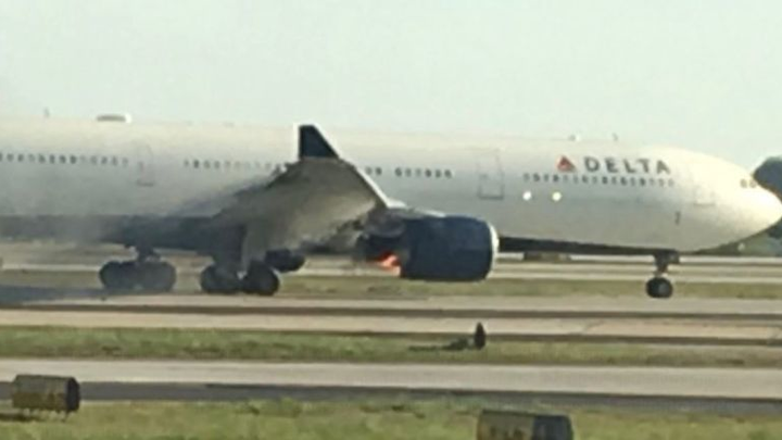 Two Delta Airlines aircraft suffer engine trouble this week, worrying passengers
