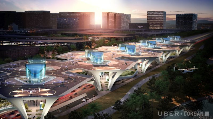 Flying taxis to usher in networks of skyports, cost savings over traditional infrastructure