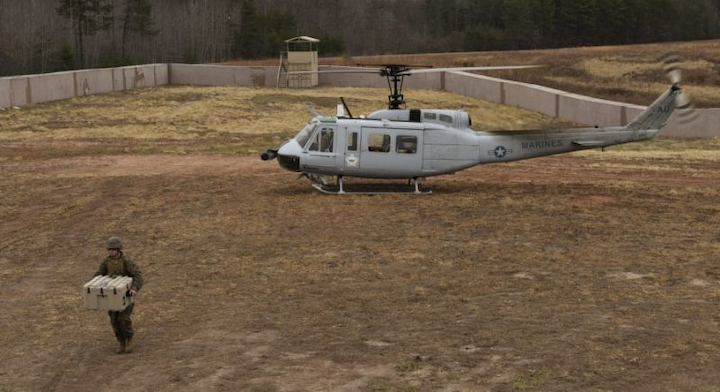 AACUS achieves autonomous point-to-point cargo resupply mission