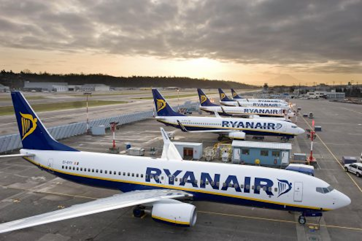 Ryanair closes datacenters in favor of AWS cloud-based services, data analytics, machine learning