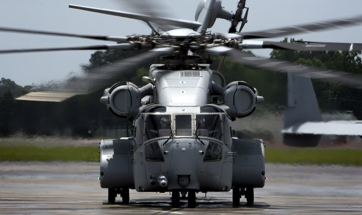 Sikorsky completes test program, delivers first rugged CH-53 King Stallion heavy-lift helicopter to U.S. Marine Corps