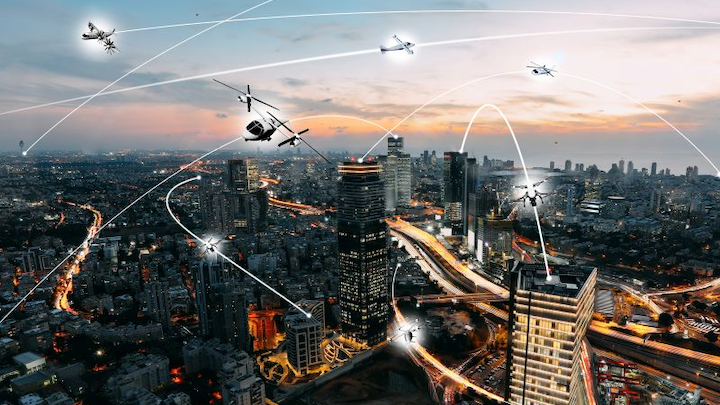 NASA, Uber partner to explore safety, efficiency of future urban airspace