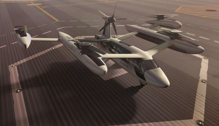 Uber unveils third eVTOL Common Reference Model concept for future flying taxis