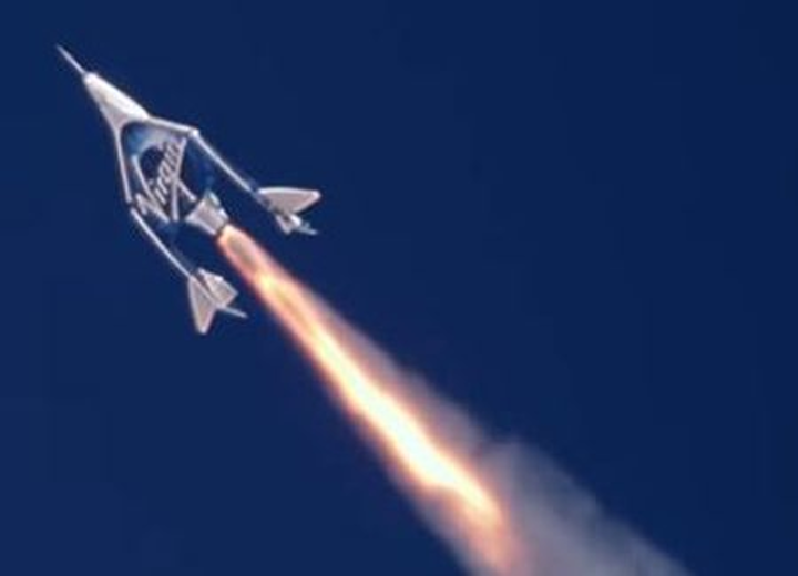 Virgin Galactic, The Spaceship Company test supersonic, rocket-powered VSS Unity commercial spacecraft