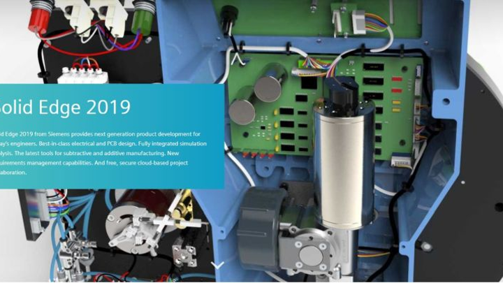 sie introduces solid edge 2019 with wiring, harness, and pcb     on
