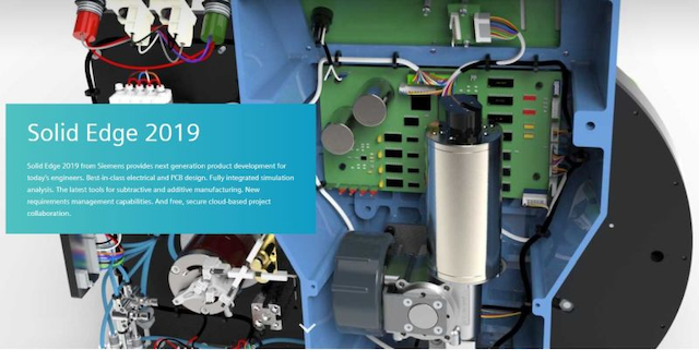 Sie introduces Solid Edge 2019 with wiring, harness, and ... on