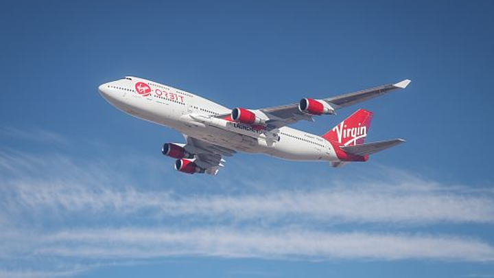 Virgin has successful test with 747 carrying air-launched satellite delivery rocket