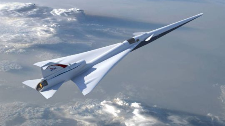 NASA 'Son of Concorde' is now being manufactured by Lockheed Martin