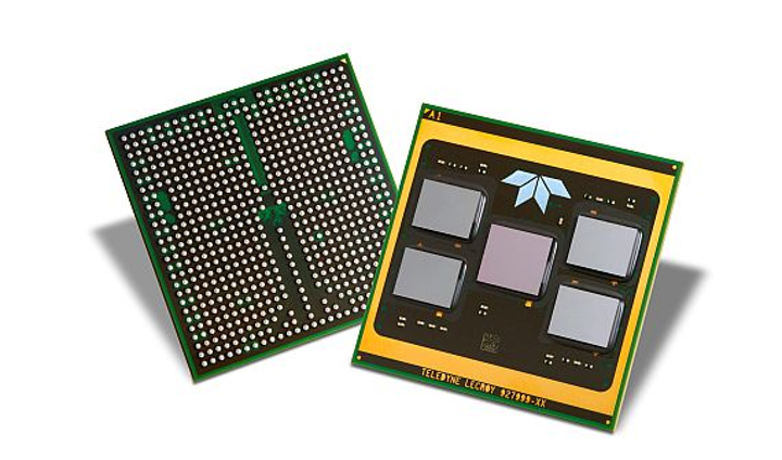 Teledyne e2v completes first multi-chip-module assembly on organic flip-chip