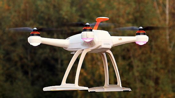 How can a drone bring an airport to a standstill?
