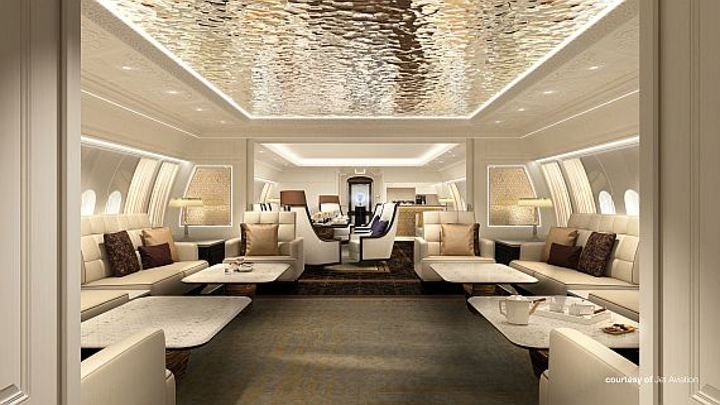Boeing's new BBJ 777X business jet can connect virtually any two cities in the world