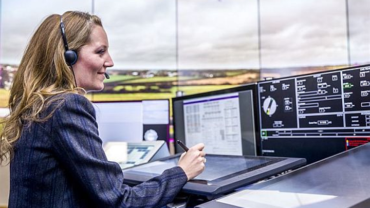 First digital air traffic control tower in the United Kingdom goes live