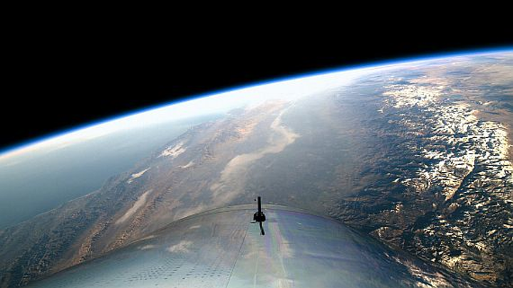 Virgin Galactic successful in sending humans to FAA definition of 'space' for the first time