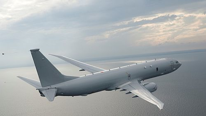 U.S. Navy grants $2.4 billion contract to Boeing for P-8A Poseidon