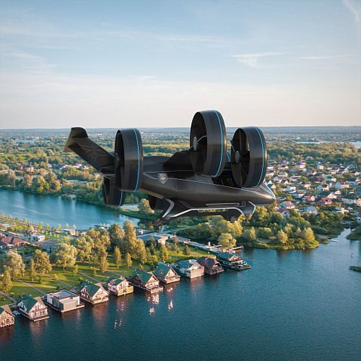 Bell Helicopter unveils 'Nexus' air taxi at CES