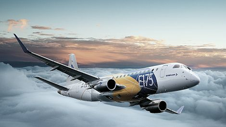 Embraer and Republic Airways close 2018 with a firm order of 100 E175 jets with an option for another 100