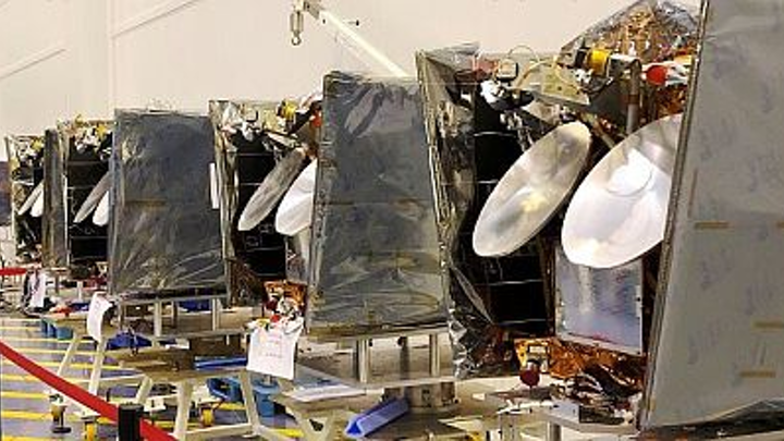OneWeb Satellites has shipped first satellites to launch site