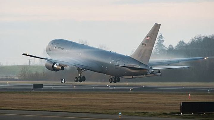 Boeing delivers KC-46 Pegasus to the U.S. Air Force