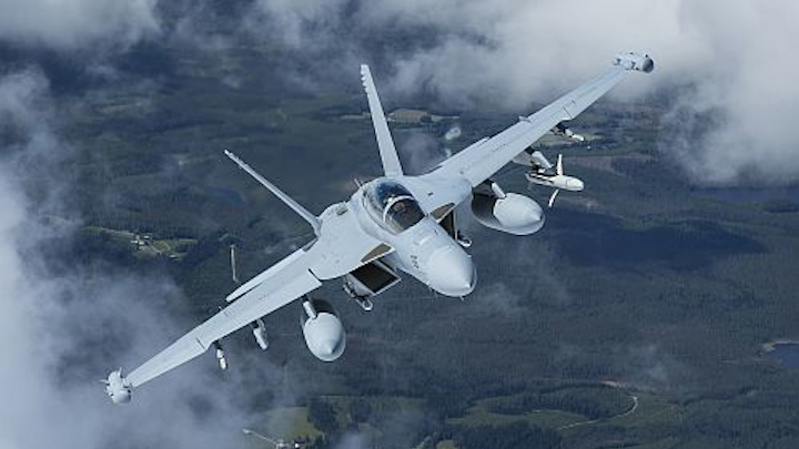 U.S. government allows Boeing to release EA-18G Growler escort aircraft to Finland