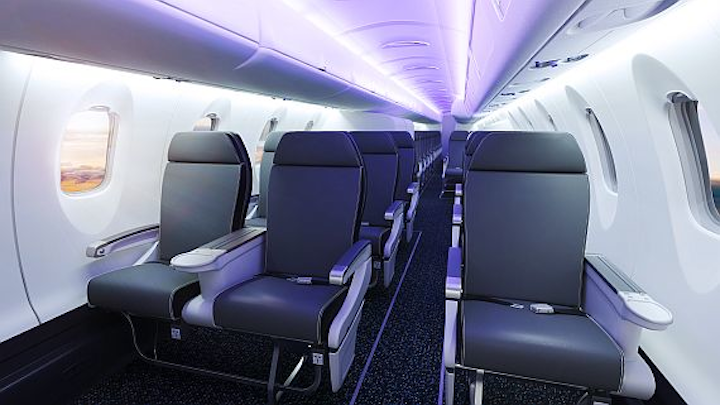 Bombardier rolls out new 50-seater commercial jet
