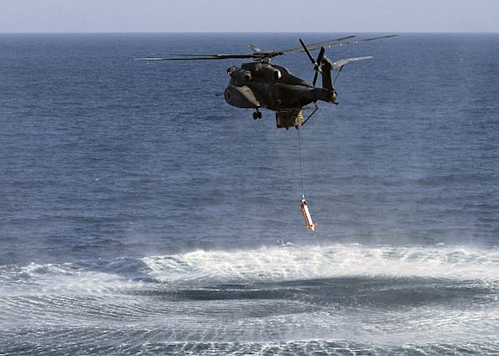 Northrop Grumman begins delivery of AQS-24C airborne and surface mine hunting system upgrades