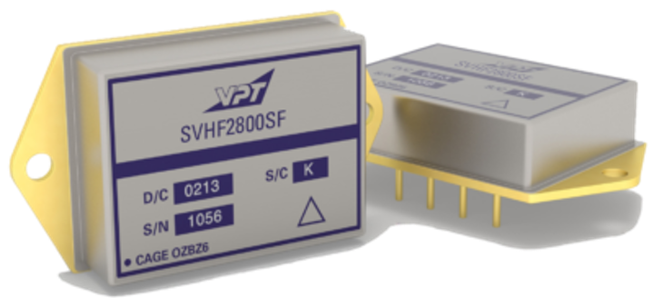 Space DC-DC converters SVHF285R2S and SVHF285R7S SMDs released by VPT