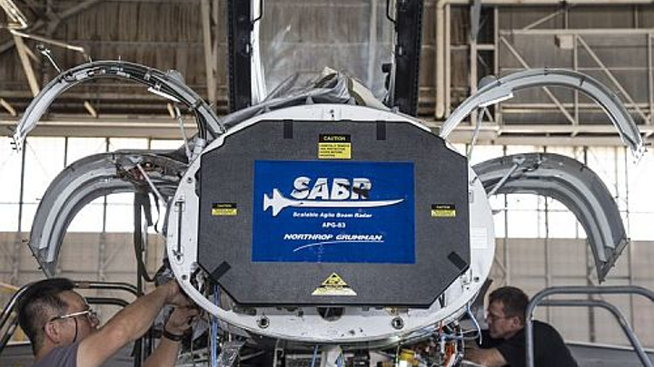 Northrup Grumman successfully integrates fifth-generation Scalable Agile Beam Radar (SABR) onto F-16