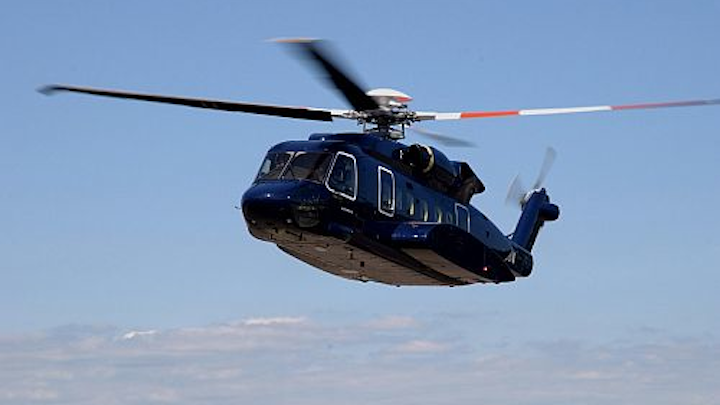 Sikorsky introduces S-92A+ and S-92B helicopter models