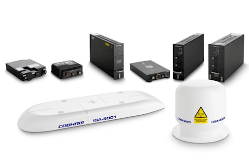 New communications system from Cobham and Inmarsat improves signal through rotor blades by reducing packet loss by up to 40 percent