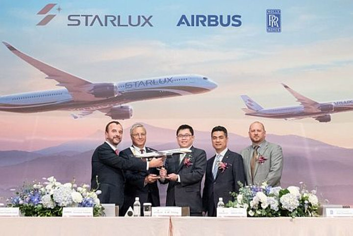 Start-up Taiwanese airline StarLux purchases 17 Airbus wide-bodies ahead of first flights