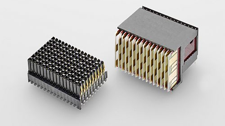 TE Connectivity's MULTIGIG RT 3 rugged backplane connector hits 25+Gb/s in harsh applications