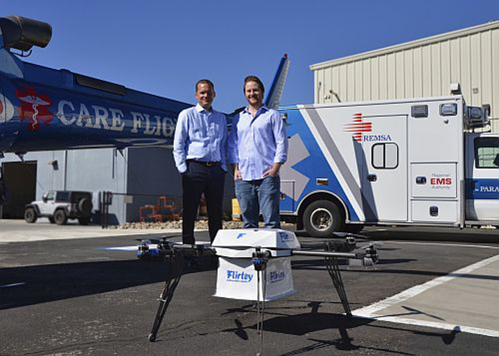 Flirtey and City of Reno receive FAA approval for drone delivery beyond visual line of sight