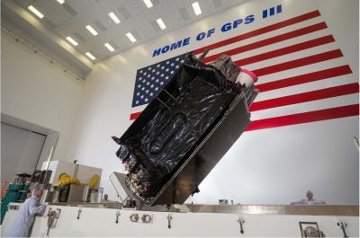 USAF's second Lockheed Martin-built GPS III satellite arrives ahead of July launch