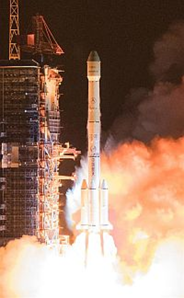 China marks 300th 'Long March' rocket mission with new communication satellite