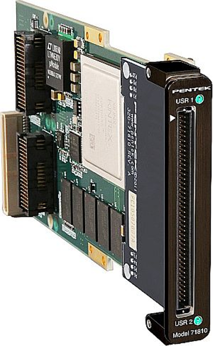 Pentek's Jade Architecture digital I/O XMC module now available