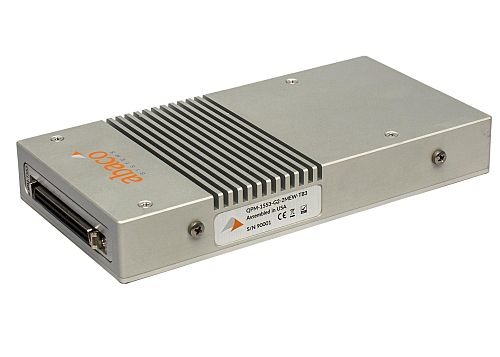 Abaco announces new family of avionics devices for test and simulation, development, and dataloading featuring Thunderbolt 3 interface